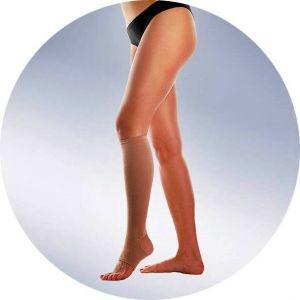 Бандаж-чулок на одну ногу до колена, плотный артикул 503